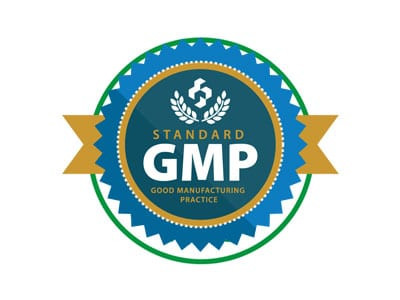 Certificate – Good Manufacturing Practices (GMP)