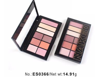 Custom logo eyeshadow palette 9 colors highly pigment ES0366