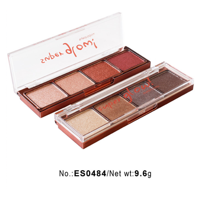 wholesale eyeshadow palettes high pigment 4 colors