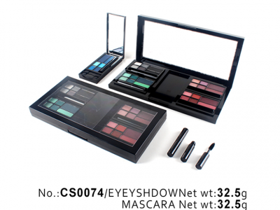 Makeup set (include eyeshadow, blusher, compact powder) CS0074