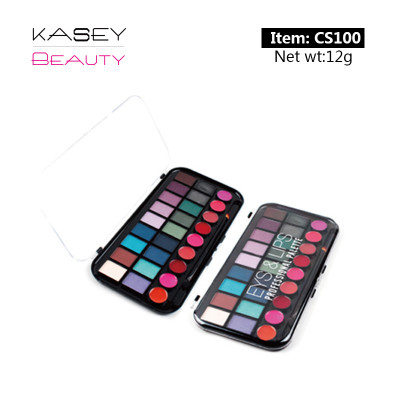Private makeup eyes & lips palette CS0100