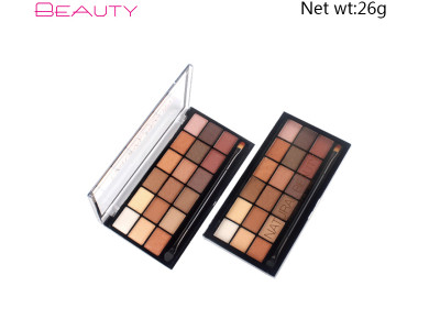 Custom eyeshadow palette high pigment 18 colours CS0326