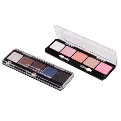 Cruelty free makeup Matte & Shimmer eyeshadow palette 5 colors