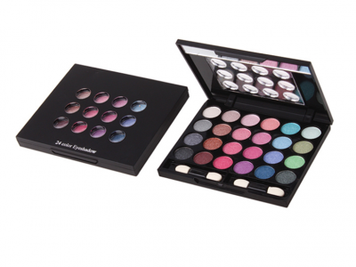 Best 24 Colors Private Label Metallic Eyeshadow Palette China Manufacturer ES0015