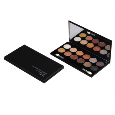 12 colors eyeshadow best private label makeup manufacturers china