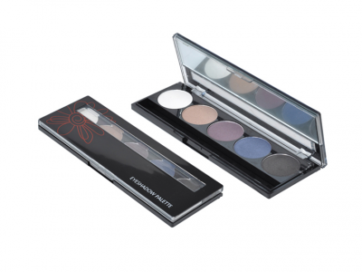 5 colors eyeshadow palette China Private Label Makeup Suppliers ES0026