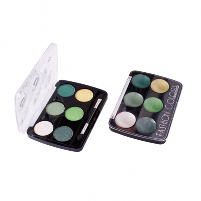 Top cosmetic manufacturers in China 6 colors eyeshadow palette ES0040