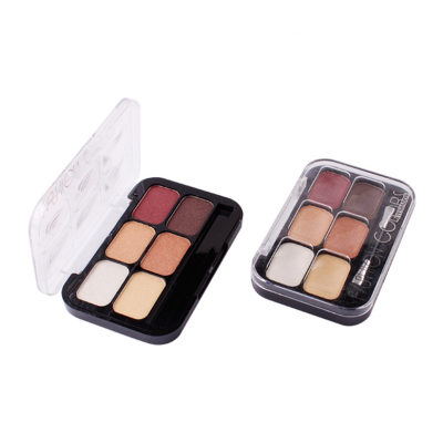 6 colors shimmer eyeshadow palette private label Makeup Business