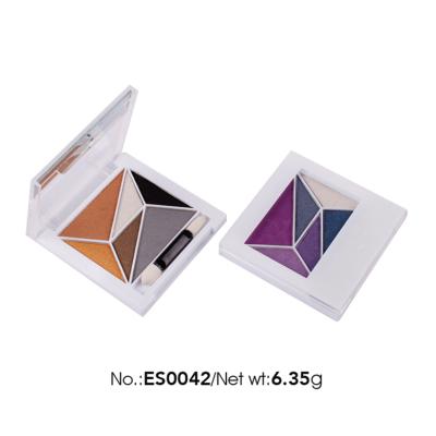 OEM ODM cosmetics 6 color eye shadow matte & shimmer finish
