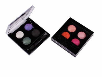 Private Label Cosmetic Distributors 4 Colors Eyeshadow Palette ES0045