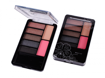 Private Label Matte Makeup Cosmetic Colorful eyeshadow palette 7 colors ES0059