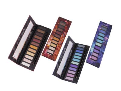 Private label cosmetics 12 colors eye shadow palette matte ES0065