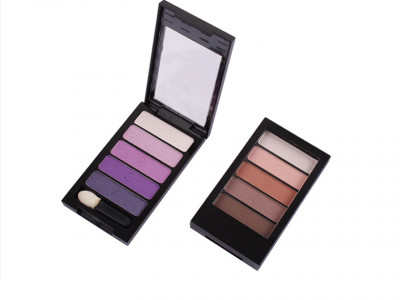 Wholesale Private Label Makeup 5 colors eye shadow palette ES0067