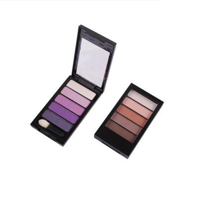 Wholesale Private Label Makeup 5 colors eye shadow palette ES0067