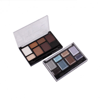 Highly pigmented powder 8 colors eyeshadow private label ES0068