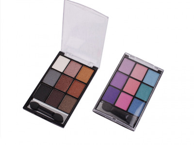 9 colors High pigment private label eyeshadow palette makeup ES0069