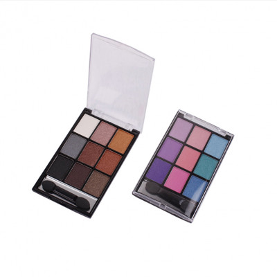 9 colors High pigment private label eyeshadow palette makeup