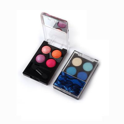 Custom eyeshadow palette manufacturers 4 colors high pigment ES0099