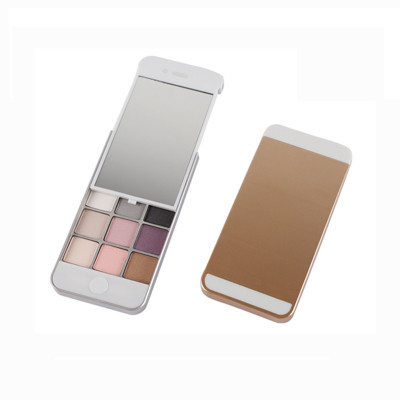 Private Label Vegan Products iphone eyeshadow palette 9 colors