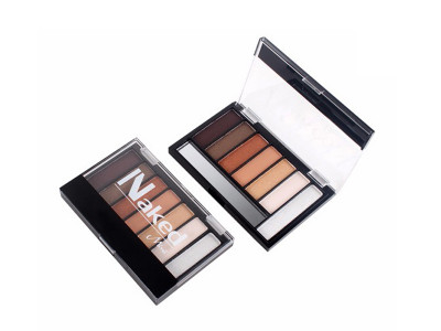 Custom 7 colors Naked shimmer eyeshadow palette FDA approved  ES0154