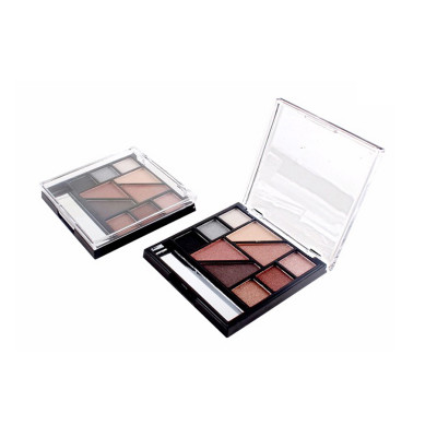 Trending imported wholesale cosmetics makeup eyeshadow palette 10 colors private label ES0168