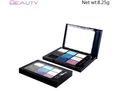 Long-lasting makeup 9 colors Shimmer eye shadow palette private label ES0203