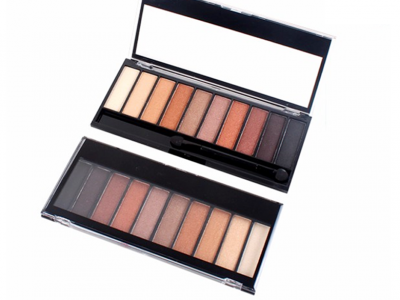 Hot selling 10 colors naked palette eyeshadow private label ES0231