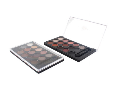 Bestseller New 15 colors eyeshadow palette private label OEM cosmetic makeup ES0239
