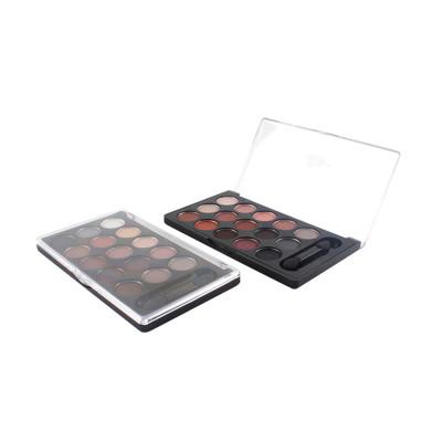 Bestseller New 15 colors eyeshadow palette private label OEM cosmetic makeup ES0239