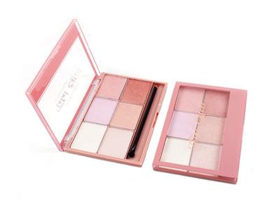Wholesale Cosmetics 6 colors face powder palette ES0266