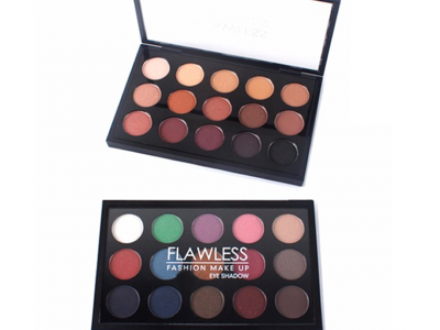 luxury private label cosmetics 15 colors eyeshadow palette ES0295