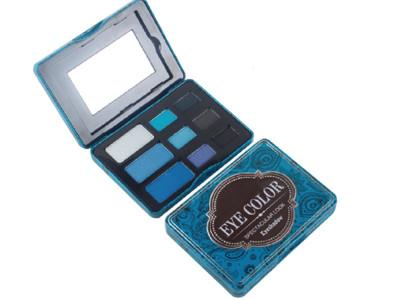 Custom tin box eyeshadow palette 9 colors high pigment ES0311