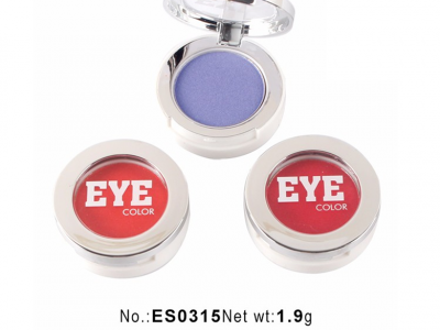 Matte & Shimmer Single Eyeshadow Packaging With Custom Logo ES0315