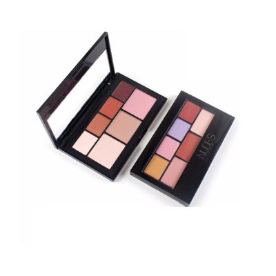 Custom nude eyeshadow palette 7 colors ES0363