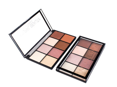New arrival pigmented natural eyeshadow 8 colors ES0369