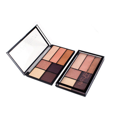 Cheap Glitter eyeshadow palette 7 colors private label ES0371