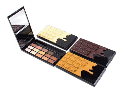 15 colors chocolate eyeshadow palette private label ES0377