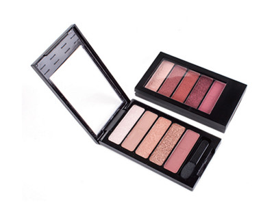 Best selling Metallic eyeshadow palette 5 colors ES0380