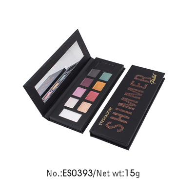 Private label shimmer eyeshadow palette 10 colors ES0393