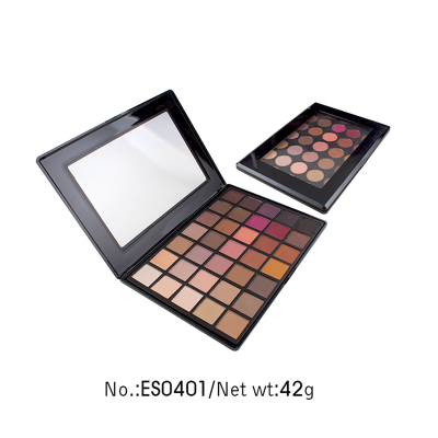 Private label cosmetics wholesale 35 colors eye shadow palette