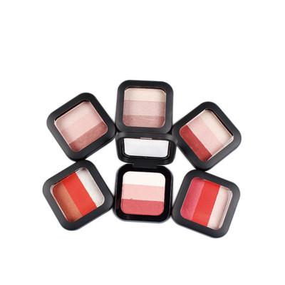 3 colors eyeshadow pallet private label ES0408