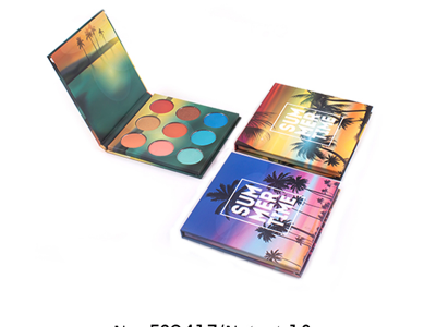 Custom eyeshadow palette with pictures and names 9 colors – ES0417