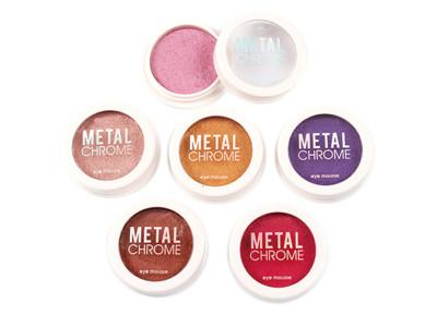 High quality metal chrome single eyeshadow private label ES0421