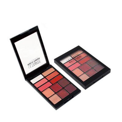 Best eyeshadow palette high pigment 12 colors private label ES0423