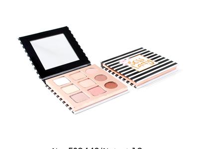 Wholesale cosmetics 9 colors cardboard eyeshadow palette ES0442