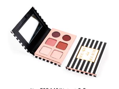 Wholesale makeup 6 colors cardboard eyeshadow palette ES0443