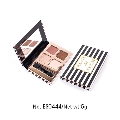 4 colors high pigment private label eyeshadow palette ES0444