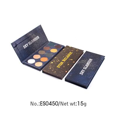 Private label 10 colors eyeshadow palettemakeup vendors ES0450