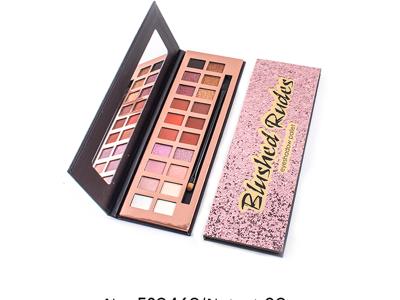 Custom 20 colors cardboard eyeshadow palette ES0460