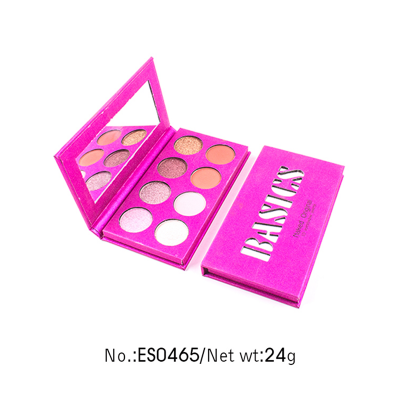 Cosmetics Private label 8 colors palette eyeshadow ES0465